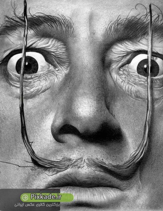 طراحی های بسیار زیبا از چهره های ماندگار,نقاشی های زیبا,طراحی چهره,سیاه قلم,نقاشی با مداد,گالری عکس بازیگران ایرانی,گالری عکس پیکسکده,پیکسکده,تصاویر گرافیکی,تصاویر سیاه و سفید